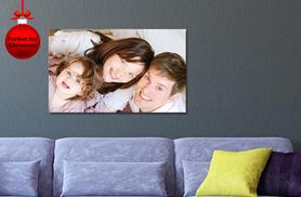 £12.99 instead of £54.99 (from Your Perfect Canvas) for a personalised A1 canvas - save a picture-perfect 76%