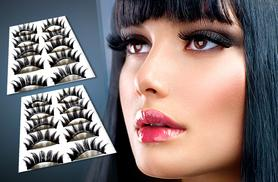 £6 instead of £49.95 (from SalonBoxed) for 10 pairs of party eyelashes - save 88%