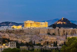 From £79pp instead of up to £111.26pp (from Major Travel) for a 3-night Athens break including flights and breakfast - save up to 29%