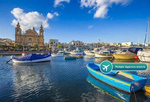 From £79pp (from ClearSky Holidays) for a two-night 4* Malta spa break with massage, flights, from £119pp for three or four nights - save up to 37%