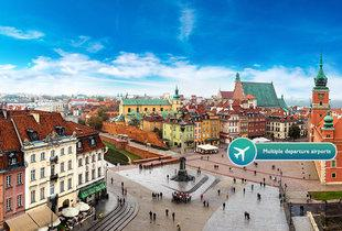 From £69pp (from ClearSky Holidays) for a two-night Warsaw getaway with flights, from £99pp for three nights - save up to 20%