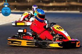 £24.99 for 50 laps of indoor go-karting for 1 person, £46.99 for 2 with Activity Superstore - choose from 5 locations & save up to 54%