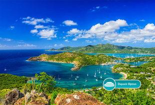 From £999pp (from Crystal Travel) for a seven-night all-inclusive Antigua with flights, £1299 for ten nights, £1599 for fourteen, or pay a £400 deposit - save up to 69%
