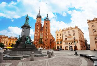 From £69pp (from Crystal Travel) for a two-night Krakow break with flights, from £99pp for three nights - save up to 41%