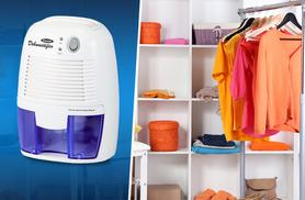 £29.99 instead of £65 (from Zoozio) for a portable dehumidifier with 500ml tank capacity, £39.99 with 2L tank capacity - save up to 54%