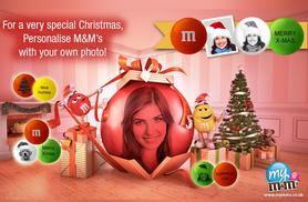 £3.50 for a £15 voucher to spend on customised M&M's - save 77%
