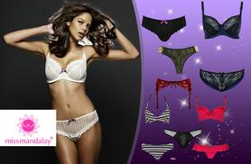 £20 (from Miss Mandalay) for a £60 voucher to spend on lingerie from Miss Mandalay - save 67%