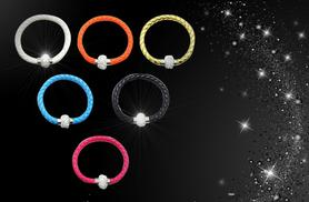 £7 instead of £24.99 (from Romatco) for a silver-plated Luna bracelet made with Swarovski Elements - save 72%