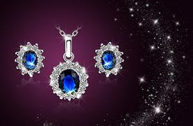£10 instead of £29.99 (from Romatco) for a Blue Moon necklace and earrings set - save 67%