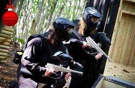 £10 instead of up to £189.80 for a day of paintballing for up to 10 inc. 100 balls each at a range of UK locations with Paintball Network - save up to 95%