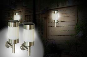 £12.99 instead of £37 (from Zoozio) for 2 LED solar power wall lamps - save 65%
