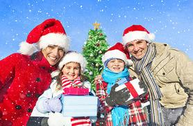 £12 for entry for 1 adult and 1 child to a 3-hour Christmas activity experience at Top Barn Activity Centre, £19 for a family of 4 - save up to 47%