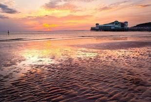 £89 (at Royal Hotel, Weston-super-Mare) for a 2-night seaside break for 2 including daily breakfast, plus a pot of tea and muffins on arrival - save up to 58%
