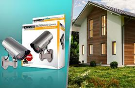 £8.99 for a König professional dummy outdoor CCTV camera with flashing LED, or £13.99 for two
