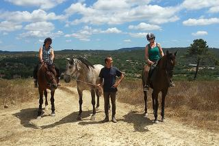 £79pp (at O Vale Dos Cavalos) for a 2nt Portuguese horse riding retreat inc. half-board cottage stay, transfers and , or £149pp for 4nts