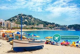 From £89pp for a three-night all-inclusive Costa Brava spa with flights, from £159pp for five nights, or from £189pp for seven nights - save up to 37%