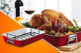 £14.99 instead of £24.99 for an extra large roasting tray from Wowcher Direct - save 40%