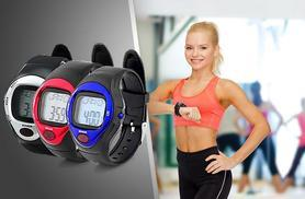 £12 instead of £49.99 (from Aneeks) for a 5-in-1 sports watch with heart rate monitor and calorie report - save 76% + DELIVERY INCLUDED