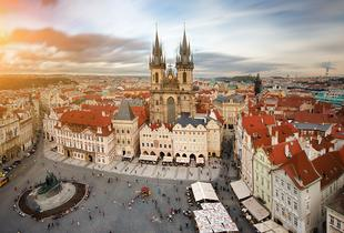 From £99pp (from Tour Center) for a 2-night Prague break for 2 including flights, sightseeing tour and breakfast, from £129pp for 3 nights - save up to 23%