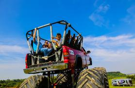 From £19 for a monster truck ride experience for one person, from £35 for two people or £65 for four at Wicked Adventures - save up to 52%