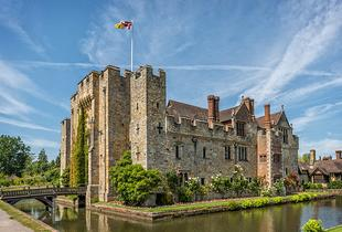 £119 (at Hever Hotel) for an overnight Kent stay for two people including a three-course dinner and a bottle of Prosecco - save up to 51%