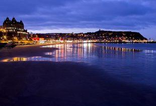 £59 for an one-night Scarborough stay for two with breakfast, £75 with dinner and wine, £139 for two nights with breakfast, £169 with dinner and wine