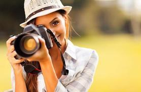 £19 instead of £495 (from Shaw Academy) for a CPD-accredited online digital photography course - save 96%