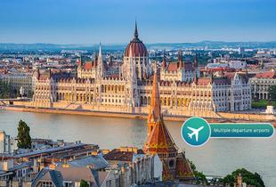 From £109pp for a two-night 5* Budapest break with flights and Retro Design Museum entry, from £179pp for three nights, from £219pp for four - save up to 33%