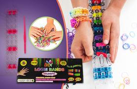 £4.99 instead of £16.99 (from The Treasure Chest) for a 626-piece loom band bracelet making kit - create amazing jewellery and save 71%