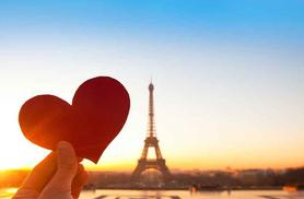 We're giving away a Valentine's weekend in Paris for 2 including return flights and 2 nights in 4* accommodation!
