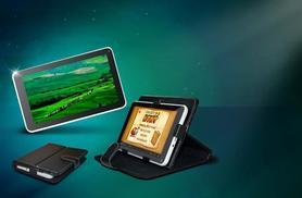 """£39 instead of £124.99 (from D2D) for a 7"""" dual core Android tablet and faux leather case bundle - save 69%"""