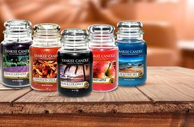 £14.99 instead of £24.99 (from SA Products) for a large Yankee Candle - choose from 5 scents & save 40%