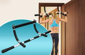 £8.99 for a heavy duty pull-up bar for your home from Wowcher Direct