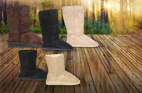 £19 instead of £54.99 (from Avendita) for a pair of ladies' 'The Boot Australia' winter faux fur-lined boots - save 65% + DELIVERY INCLUDED!