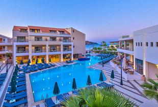 From £189pp for a three-night 5* all-inclusive Crete break with flights and a view room, from £249pp for four nights or from £369pp for seven nights - save up to 61%