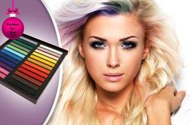 £7 instead of £26.99 (from SalonBoxed) for a 12-pack of hair chalks, £9 for a 24-pack, £11 for a 36-pack - try a new look and save up to 74%