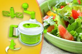 £9.99 instead of £49.99 (from Groundlevel.co.uk) for an 11-piece master salad spinner set -  take it for a spin & save 80%