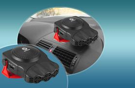 £7.99 instead of £21 (from Zoozio) for a 12V in-car heater and defroster - save 62%