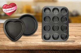 £7.99 instead of £23.95 for a 3-piece Valentine's bakeware set from Direct2public - save 67%