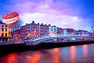 From £79pp instead of up to £150.48pp for a 2-night Dublin break including flights and Valentine's option from Tour Center - save up to 48%