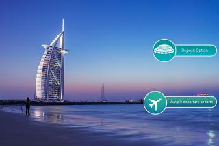 From £349pp for a three-night 4* Dubai break with flights and spa access, from £429pp for five nights, from £449pp for seven nights, pay a £200pp deposit today - save up to 47%