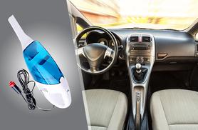 £9.99 instead of £26 (from Groundlevel.co.uk) for an in-car high-powered vacuum - save 62%