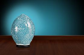 £12.99 instead of £39.99 (from Kitchen Gadgets) for a mosaic glass egg lamp – save an eggcellent 68%