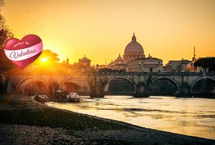 From £119pp (from ClearSky) for a 2-night 4* Rome break inc. flights & tour, from £159pp for 3 nights, from £289pp for Valentine's - save up to 65%