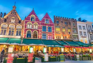 From £129pp for a three-night P&O Minicruise from Hull to Bruges including one night in a Bruges hotel, or from £179pp for four nights with a two night stay