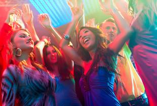 £89 (from Buyagift) for a party night and overnight stay for two inc. DJ and disco, cocktails and a 2-course meal - choose from 3 locations!