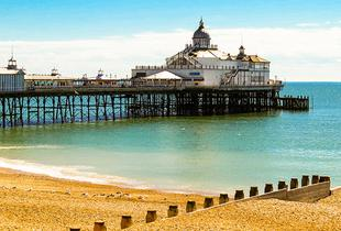 £79 for an Eastbourne break for two with breakfast, a three-course dinner and a glass of wine, £129 for two nights, or £189 for three nights - save up to 47%