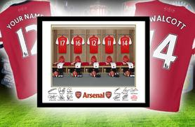 £12 (from PFG) for a framed dressing room photo of your football team personalised with your name, £22 for 2 or £32 for 3 - save up to 56%