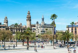 From £99pp instead of up to £174.91pp (from Tour Center) for a 2-night Barcelona break inc. flights, from £149pp for 3 nights - save up to 43%