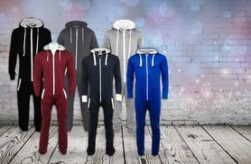 £11.99 instead of £39.99 (from Top Notch Fashion) for a soft fleece unisex onesie - choose from 6 colours & save 70%